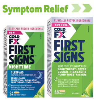 COLD-FX® First Signs®