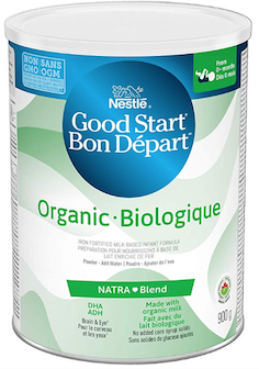 ONLY ON AMAZON: Nestle® GOOD START® Organic Baby Formula