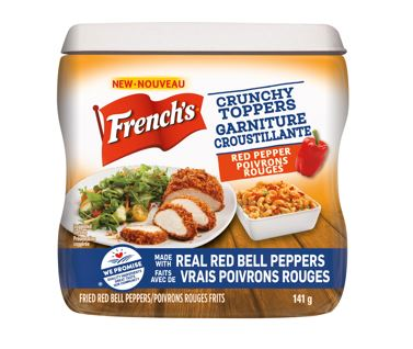 French's® Red Pepper Crunchy Toppers