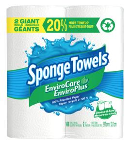 SpongeTowels® EnviroCare® Paper Towels