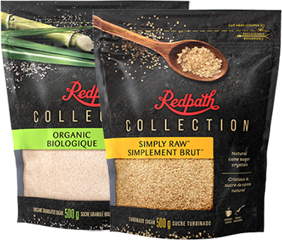 BUY 2 BONUS: Redpath Collection™ Organic and Simply Raw™ Sugar