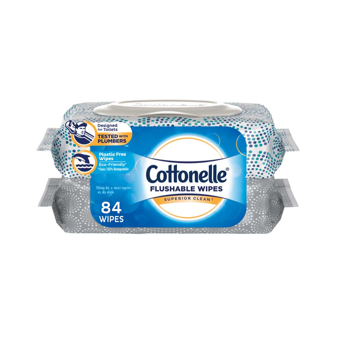 AMAZON ONLY: Cottonelle® Flushable Wipes